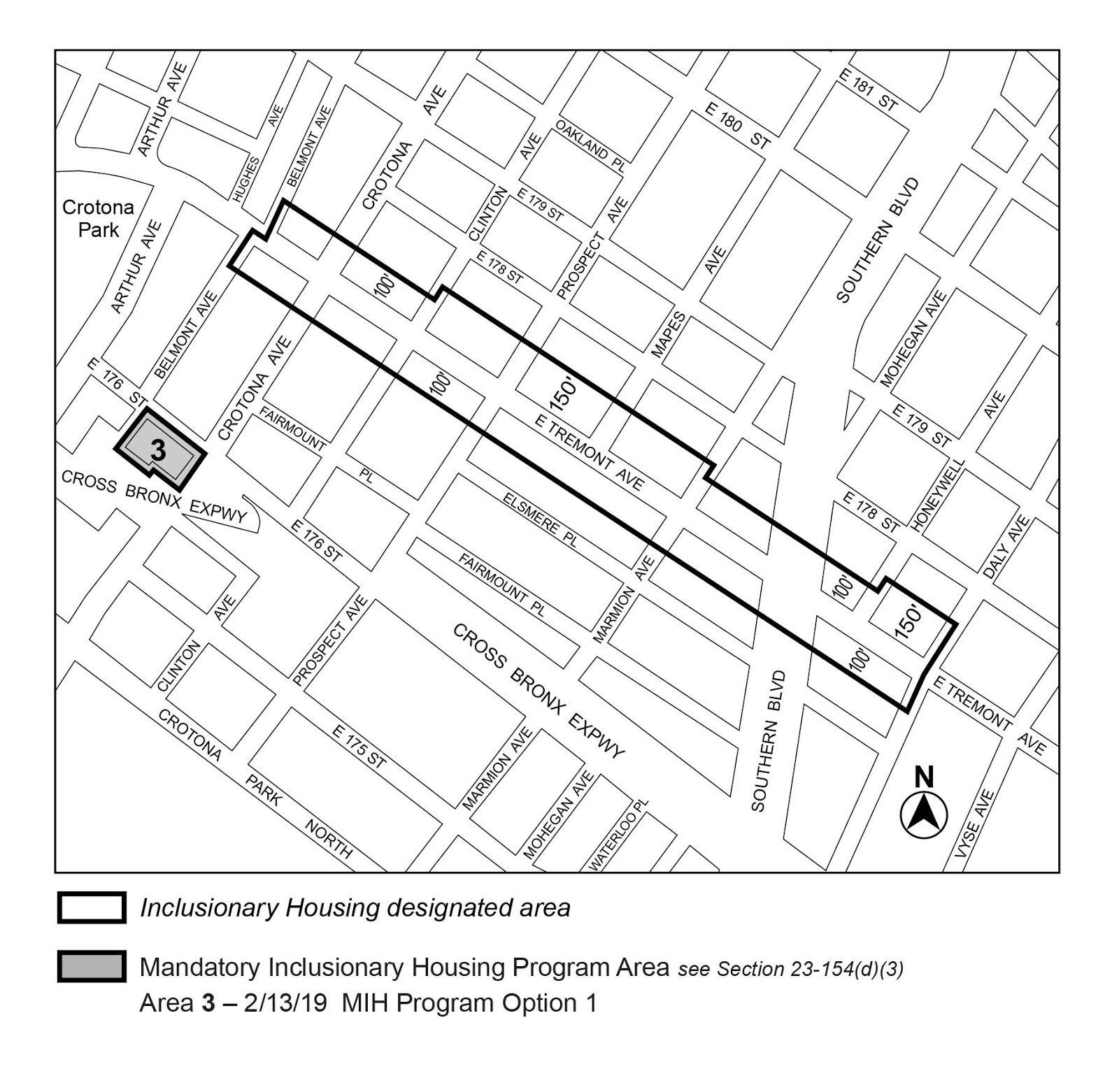 Zoning Resolutions F-Inclusionary Housing Designated Areas and Mandatory Inclusionary Housing Areas_2.23