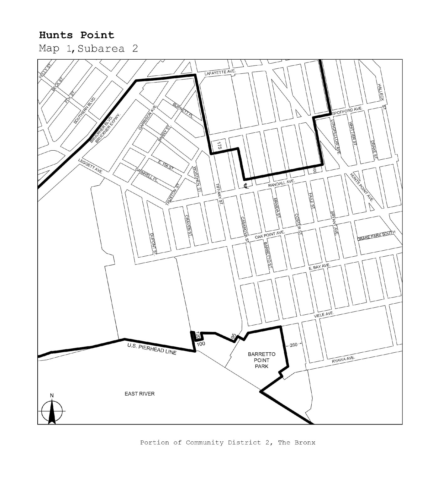 Zoning Resolutions J-Designated Areas Within Manufacturing Districts.13