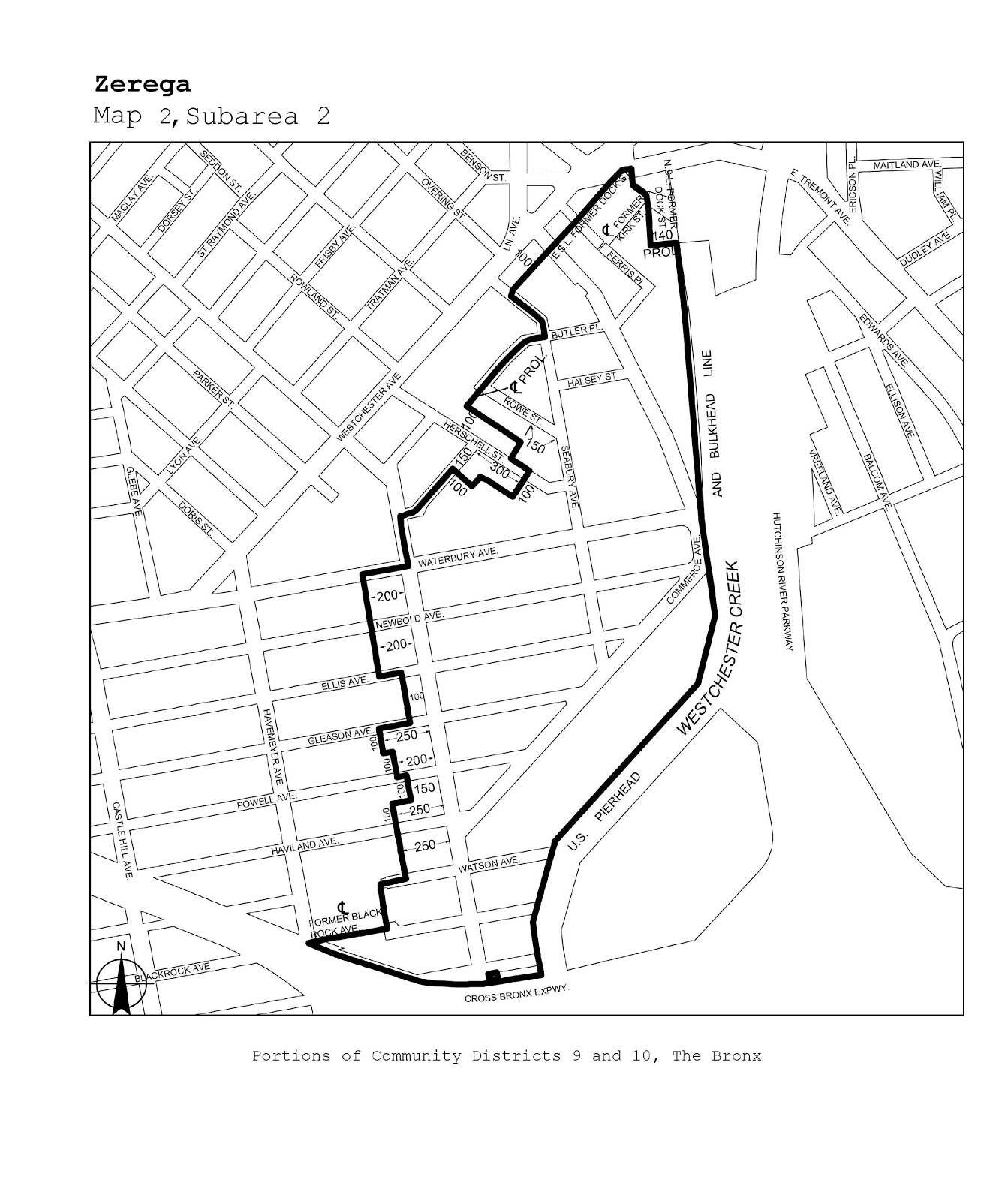 Zoning Resolutions J-Designated Areas Within Manufacturing Districts.17