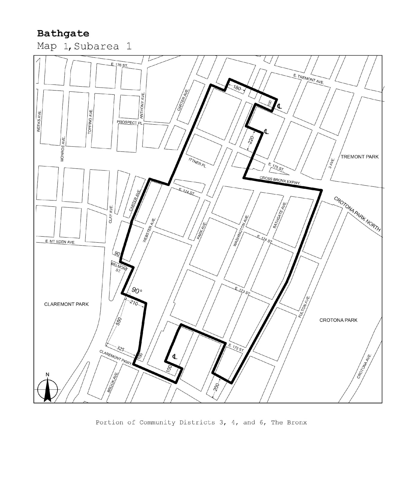 Zoning Resolutions J-Designated Areas Within Manufacturing Districts.18