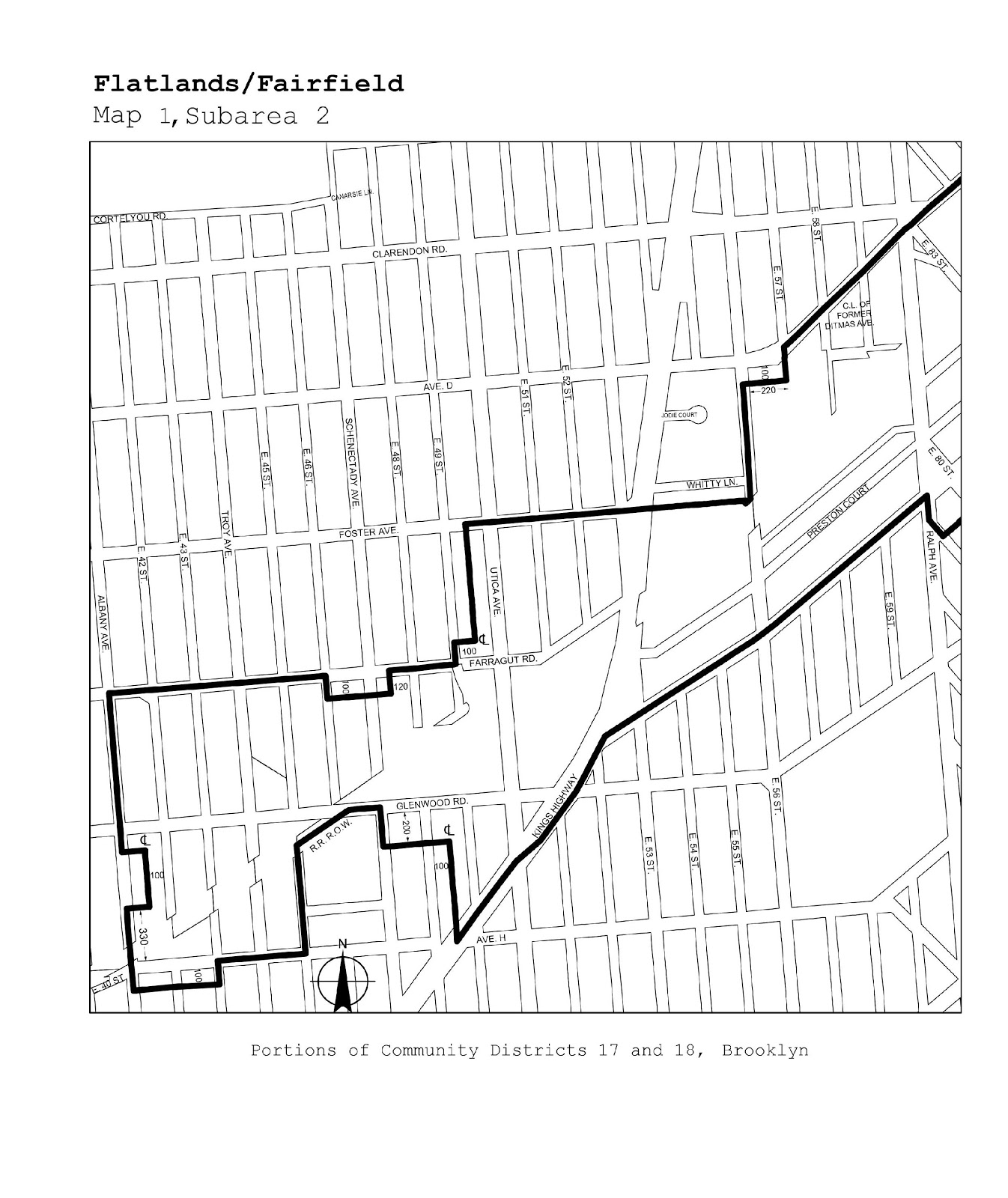 Zoning Resolutions J-Designated Areas Within Manufacturing Districts.26