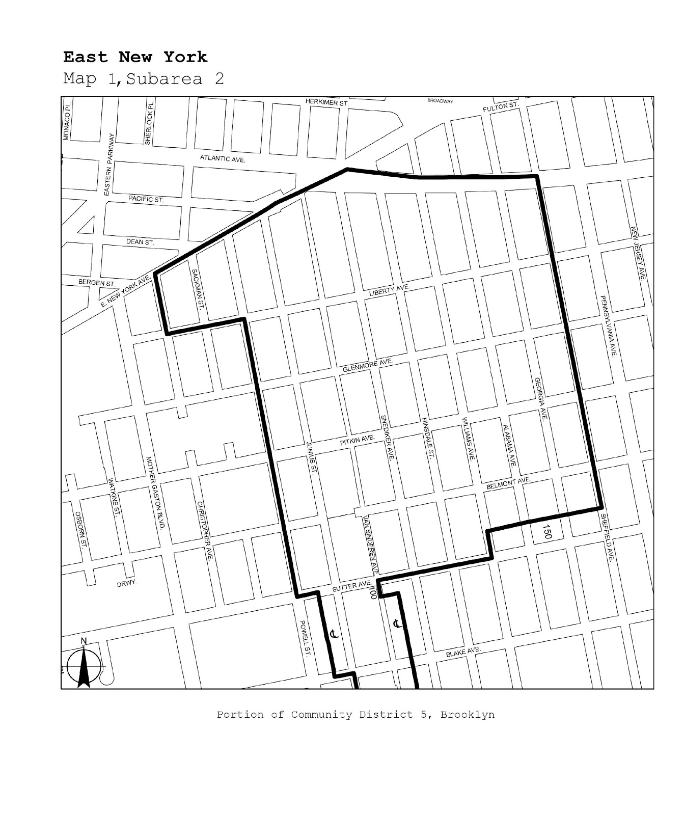 Zoning Resolutions J-Designated Areas Within Manufacturing Districts.30
