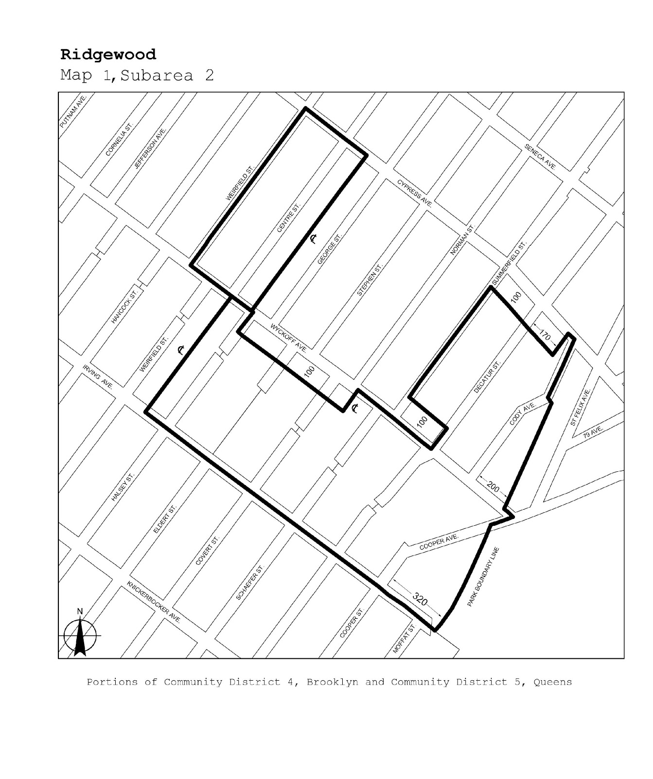 Zoning Resolutions J-Designated Areas Within Manufacturing Districts.32