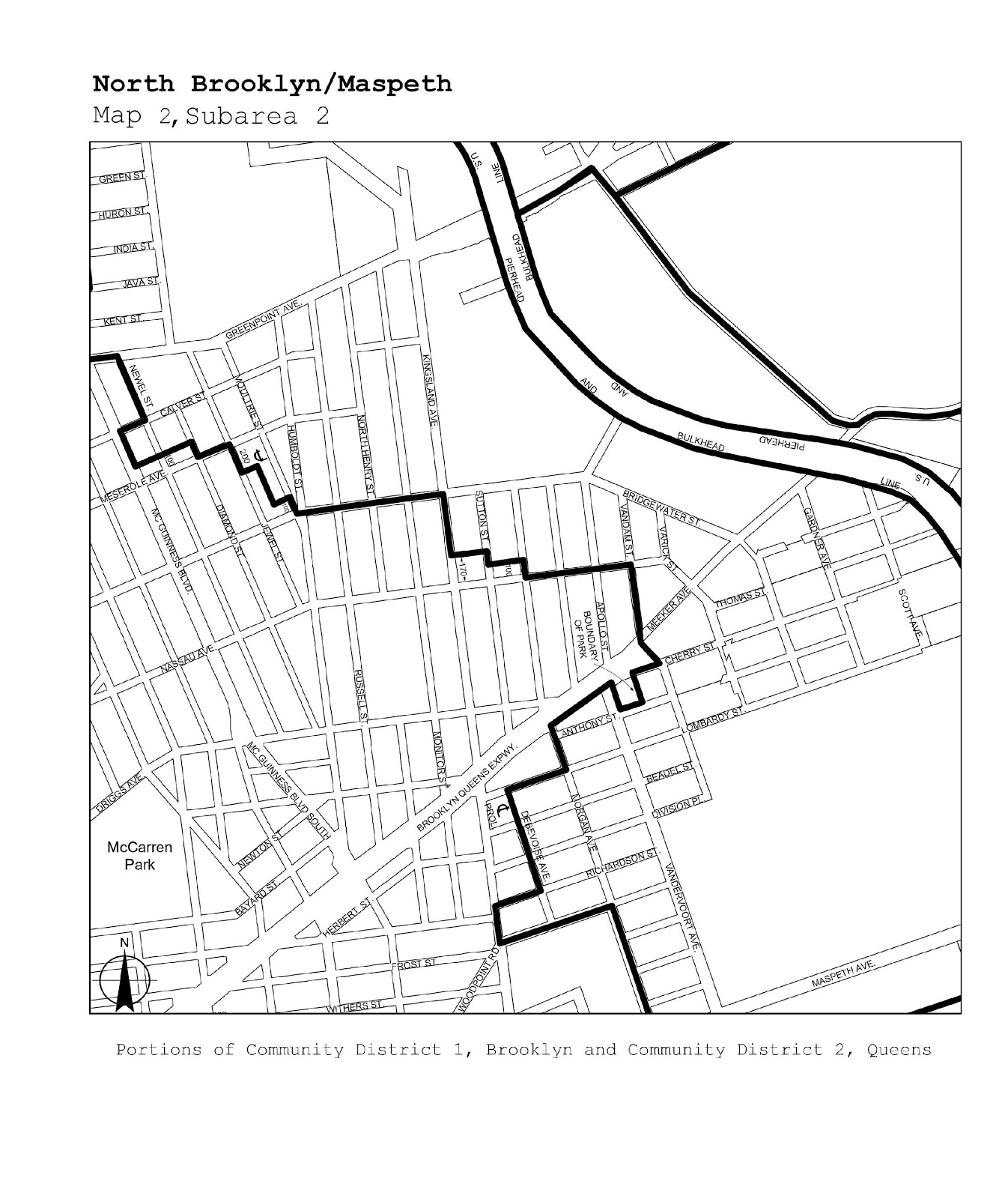 Zoning Resolutions J-Designated Areas Within Manufacturing Districts.35