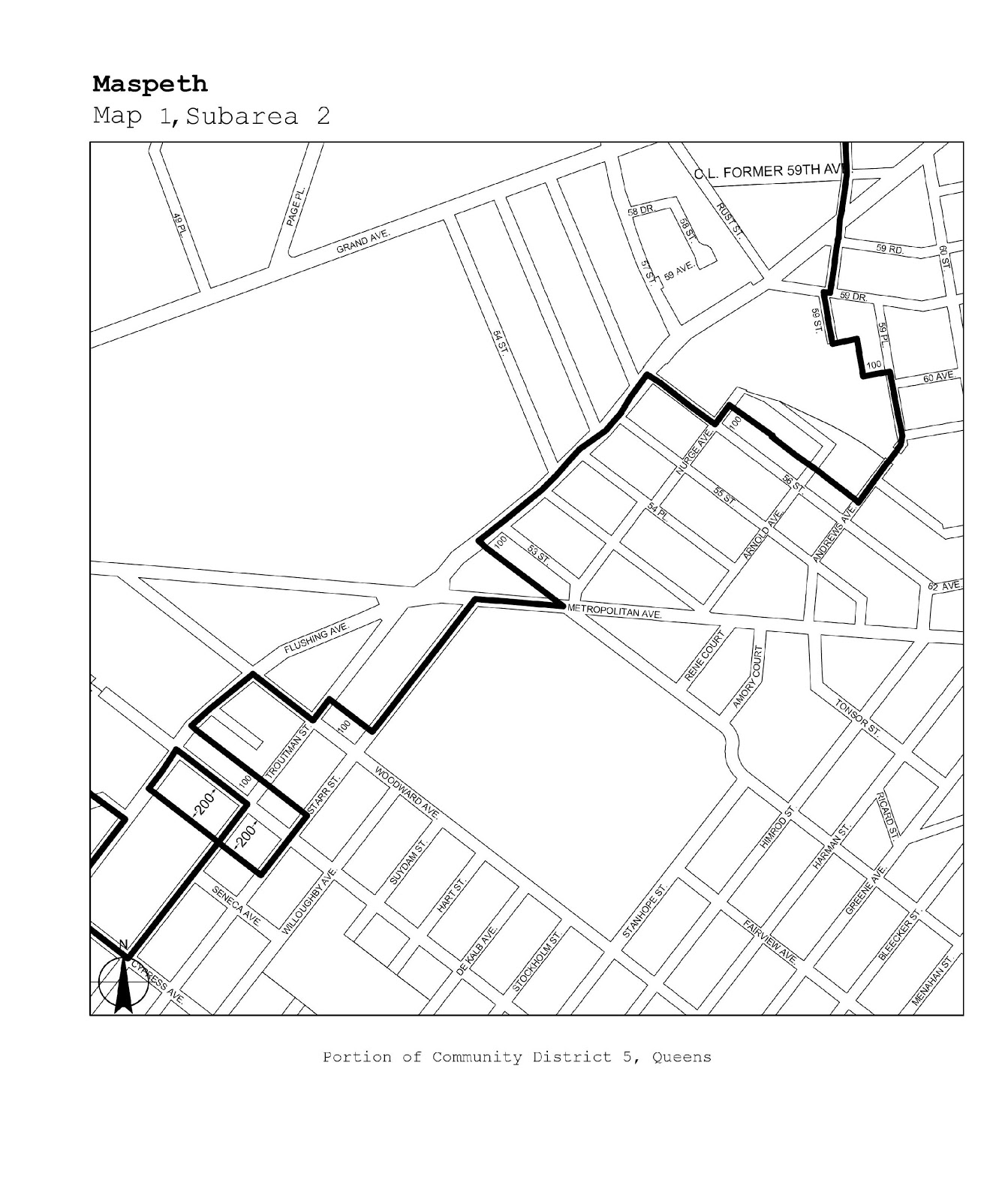Zoning Resolutions J-Designated Areas Within Manufacturing Districts.37