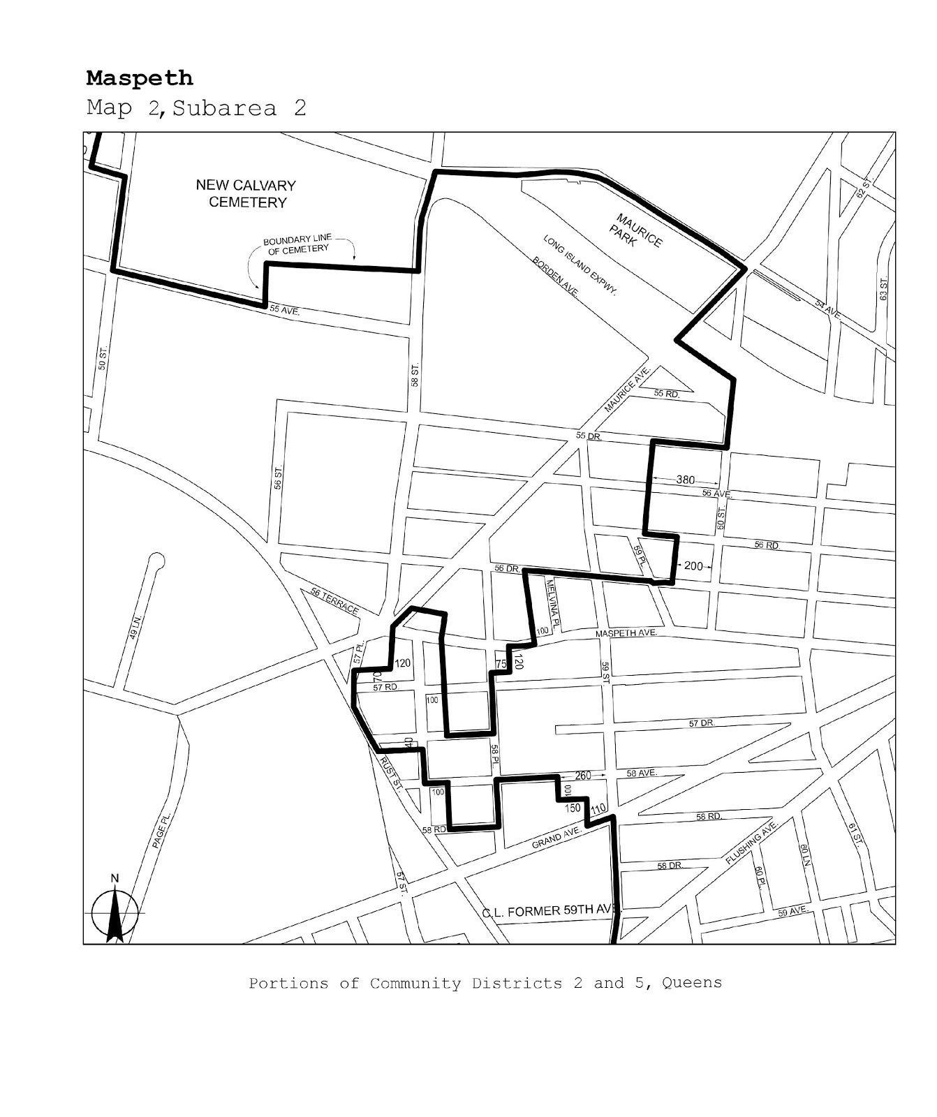 Zoning Resolutions J-Designated Areas Within Manufacturing Districts.38