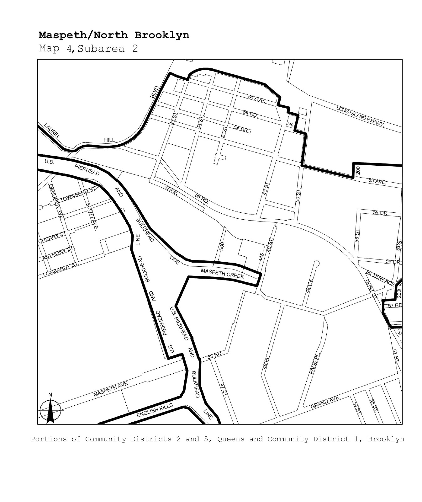 Zoning Resolutions J-Designated Areas Within Manufacturing Districts.40