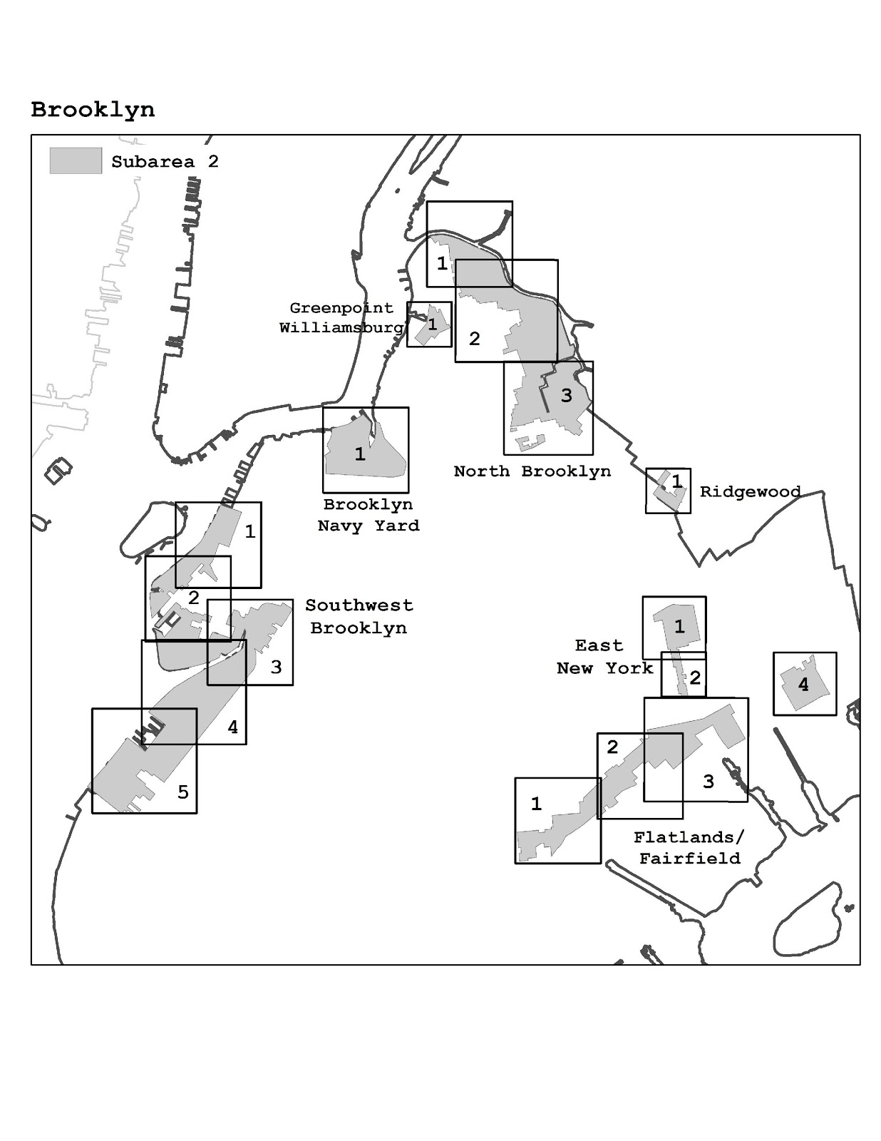 Zoning Resolutions J-Designated Areas Within Manufacturing Districts.7