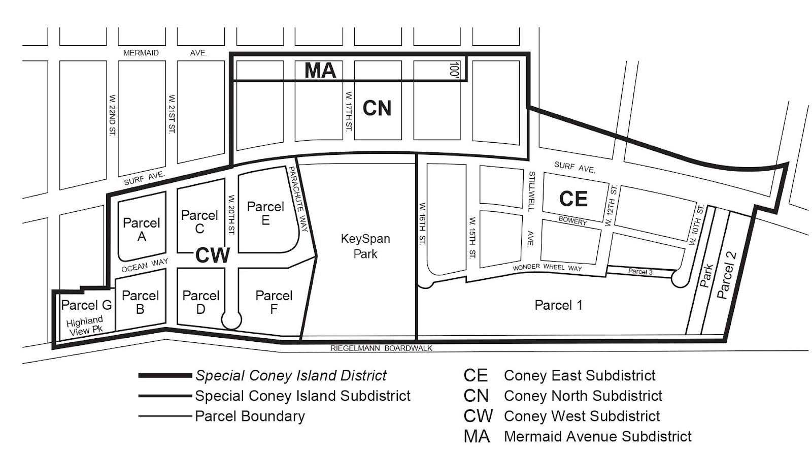 Zoning Resolutions Chapter 1: Special Coney Island District Appendix A.0