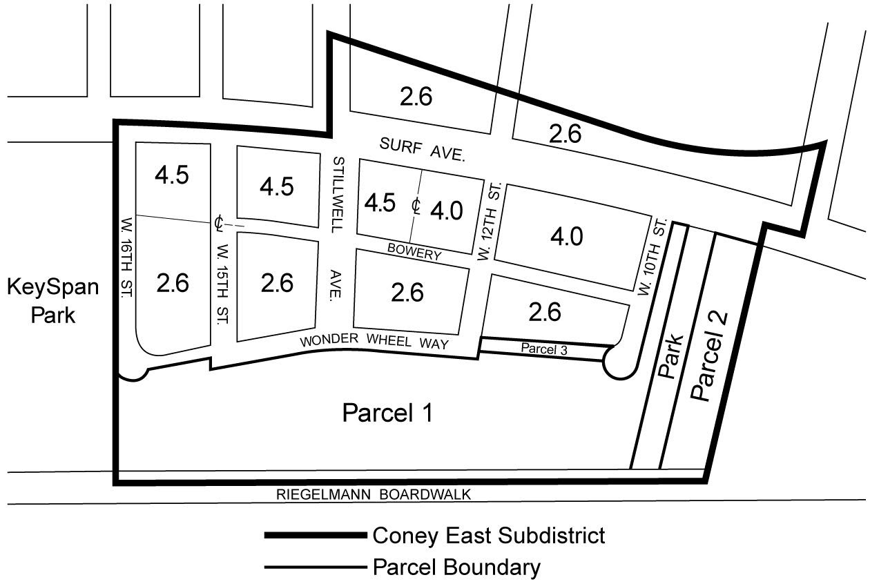 Zoning Resolutions Chapter 1: Special Coney Island District Appendix A.2