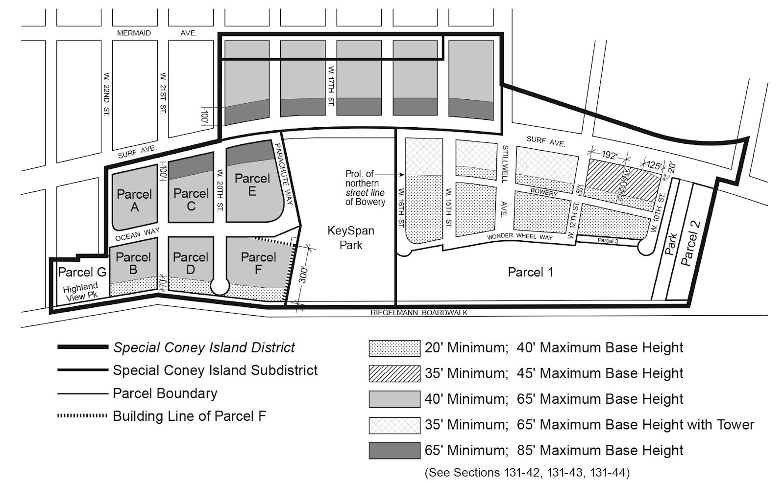 Zoning Resolutions Chapter 1: Special Coney Island District Appendix A.4