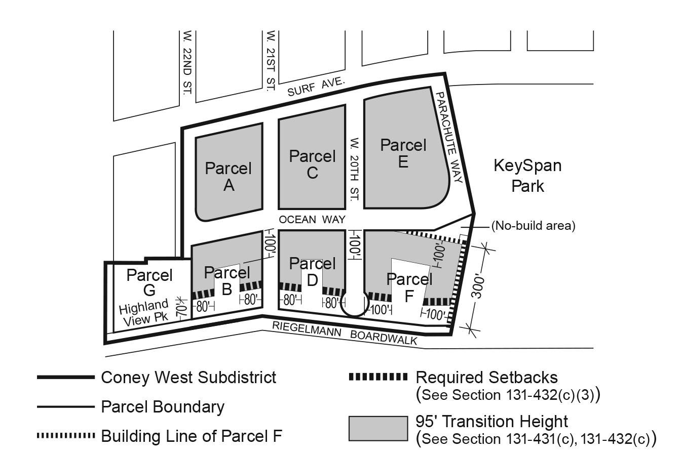 Zoning Resolutions Chapter 1: Special Coney Island District Appendix A.5