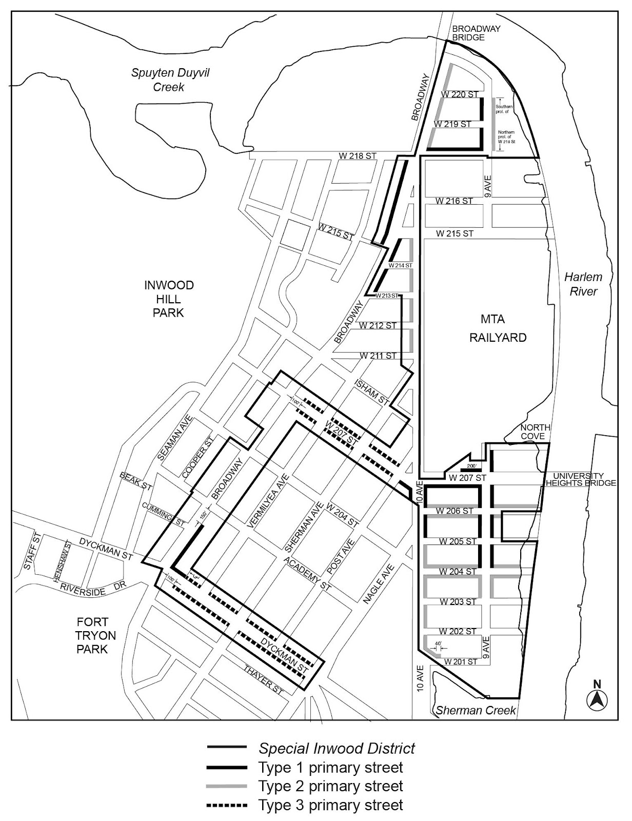 Zoning Resolutions Chapter 2: Special Inwood District APPENDIX.1