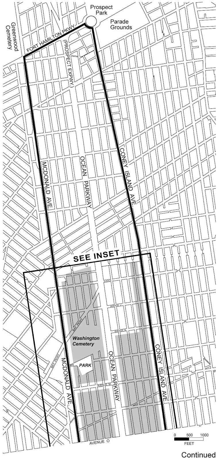Zoning Resolutions Chapter 3: Special Ocean Parkway District Appendix A.0