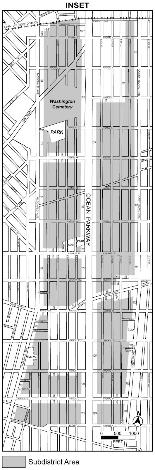 Zoning Resolutions Chapter 3: Special Ocean Parkway District Appendix A.2
