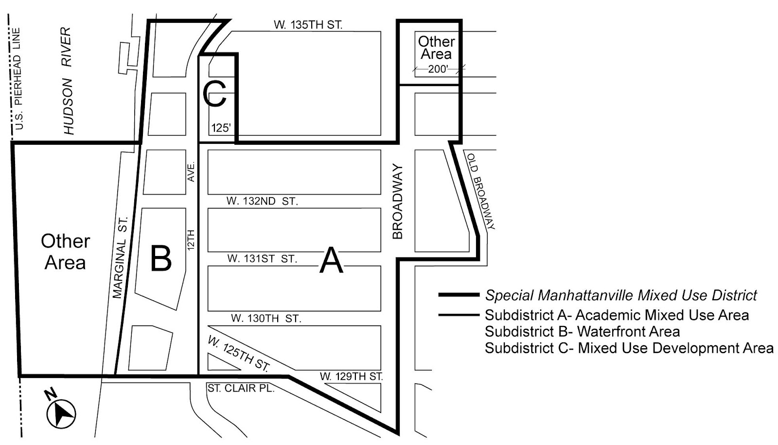 Zoning Resolutions Chapter 4: Special Manhattanville Mixed Use District Appendix A.0