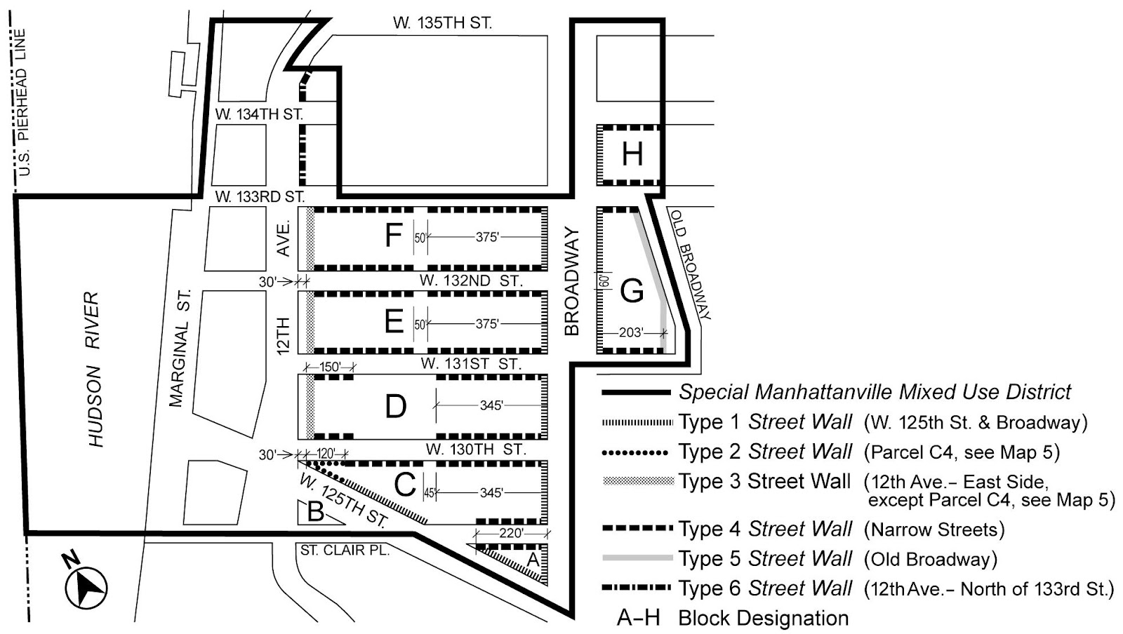 Zoning Resolutions Chapter 4: Special Manhattanville Mixed Use District Appendix A.3