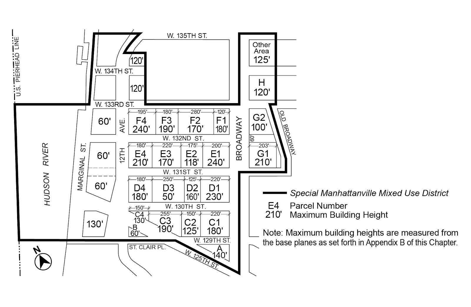 Zoning Resolutions Chapter 4: Special Manhattanville Mixed Use District Appendix A.4