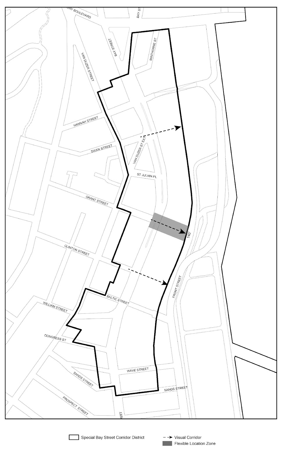 Zoning Resolutions Chapter 5: Special Bay Street Corridor District APPENDIX A.1