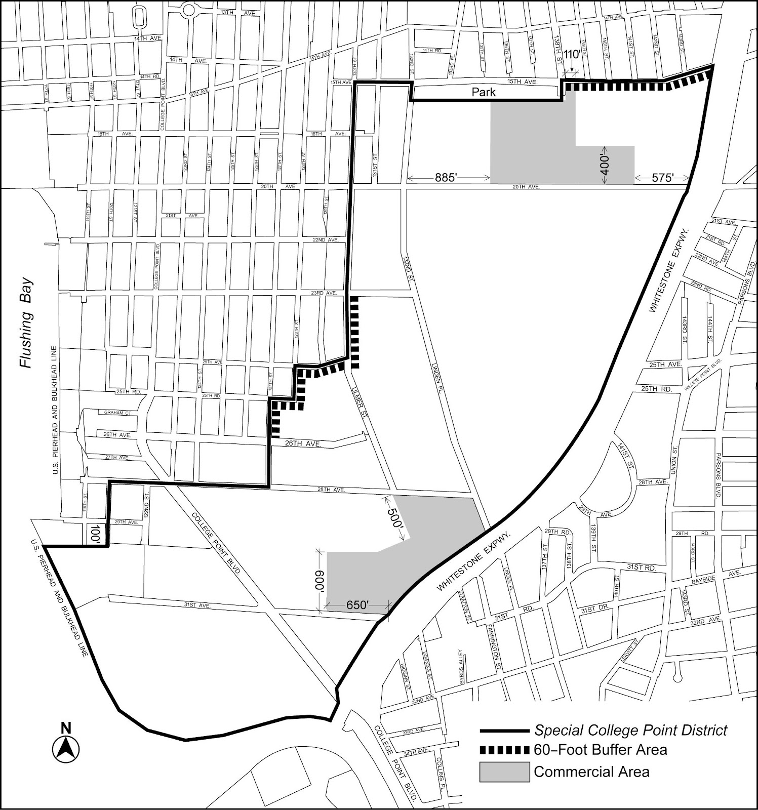 Zoning Resolutions Chapter 6: Special College Point District Appendix.0