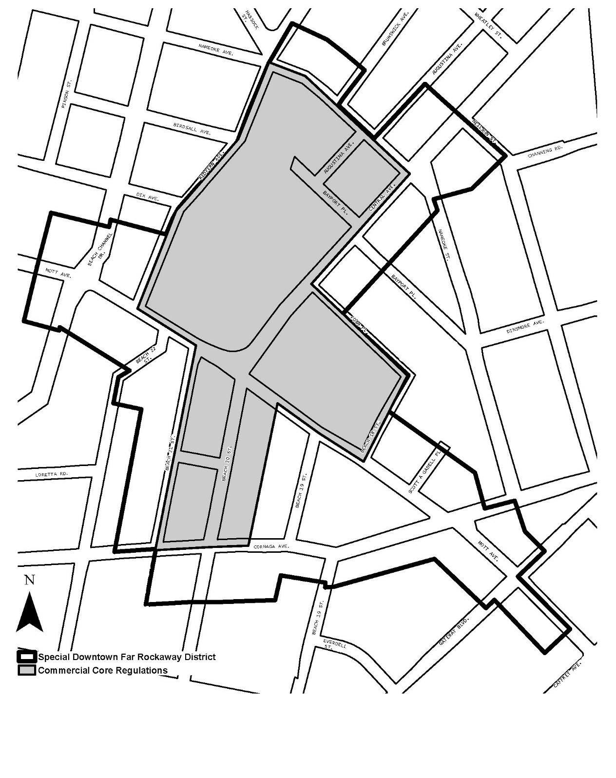 Zoning Resolutions Chapter 6: Special Downtown Far Rockaway District APPENDIX.1