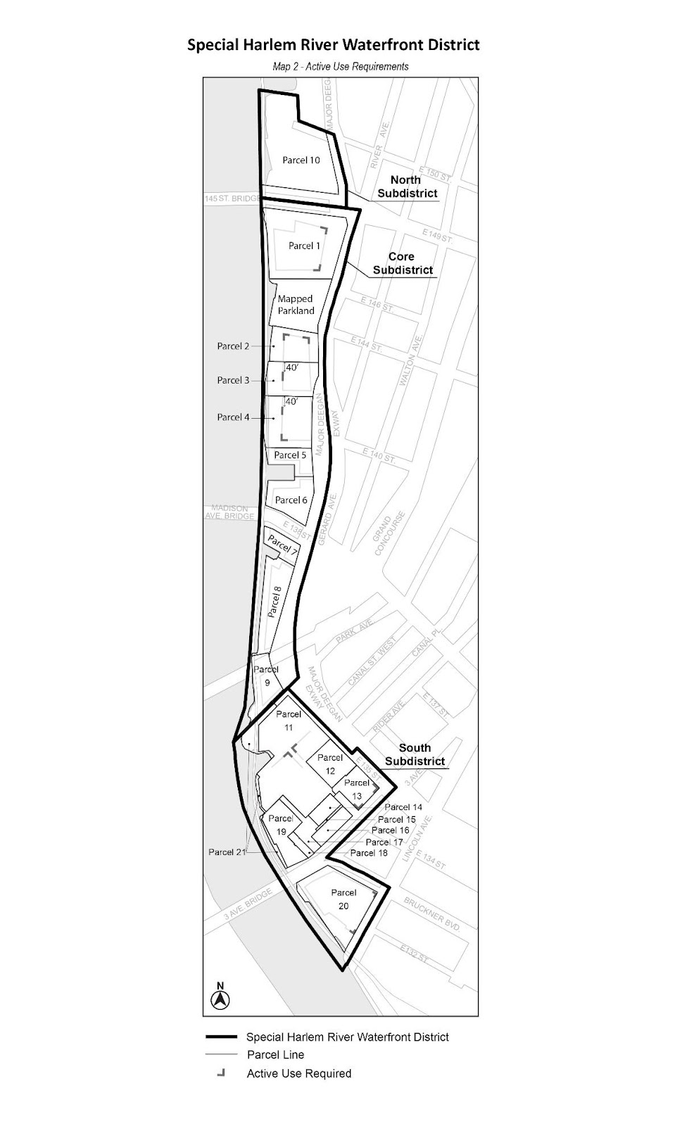 Zoning Resolutions Chapter 7: Special Harlem River Waterfront District Appendix.1