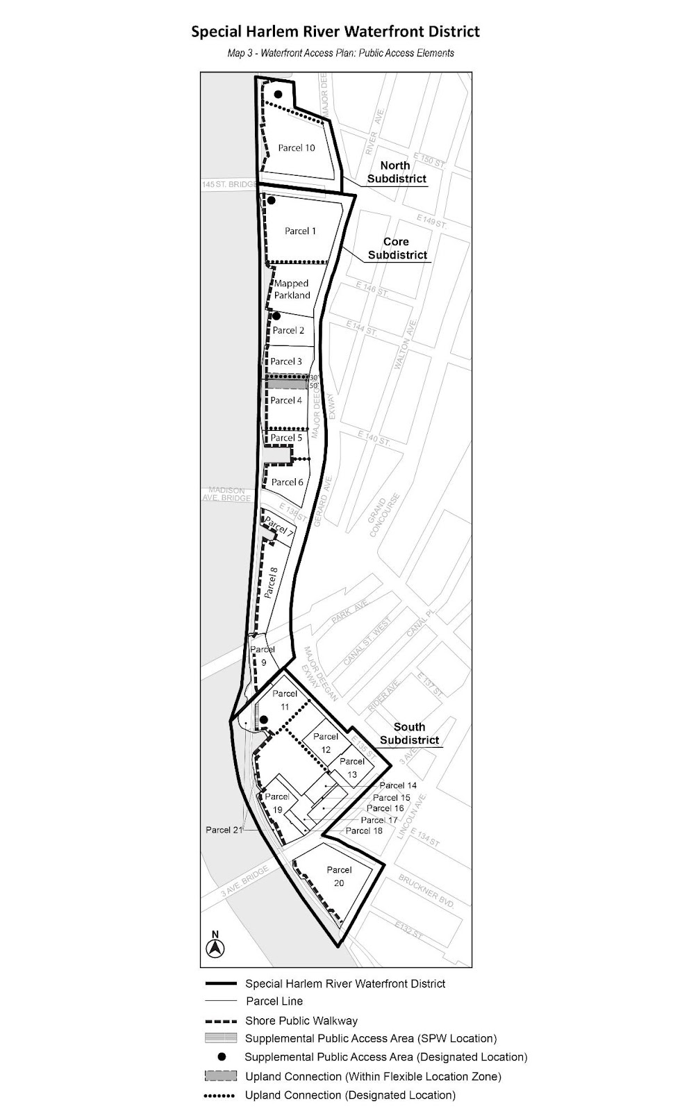 Zoning Resolutions Chapter 7: Special Harlem River Waterfront District Appendix.2