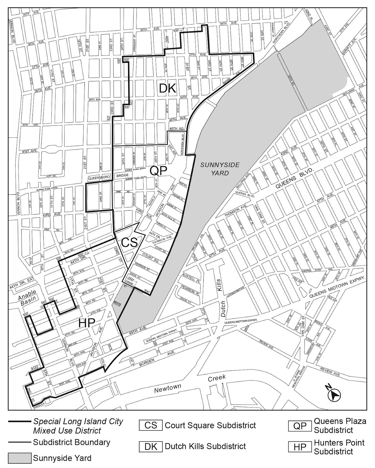 Zoning Resolutions Chapter 7: Special Long Island City Mixed Use District Appendix A.0