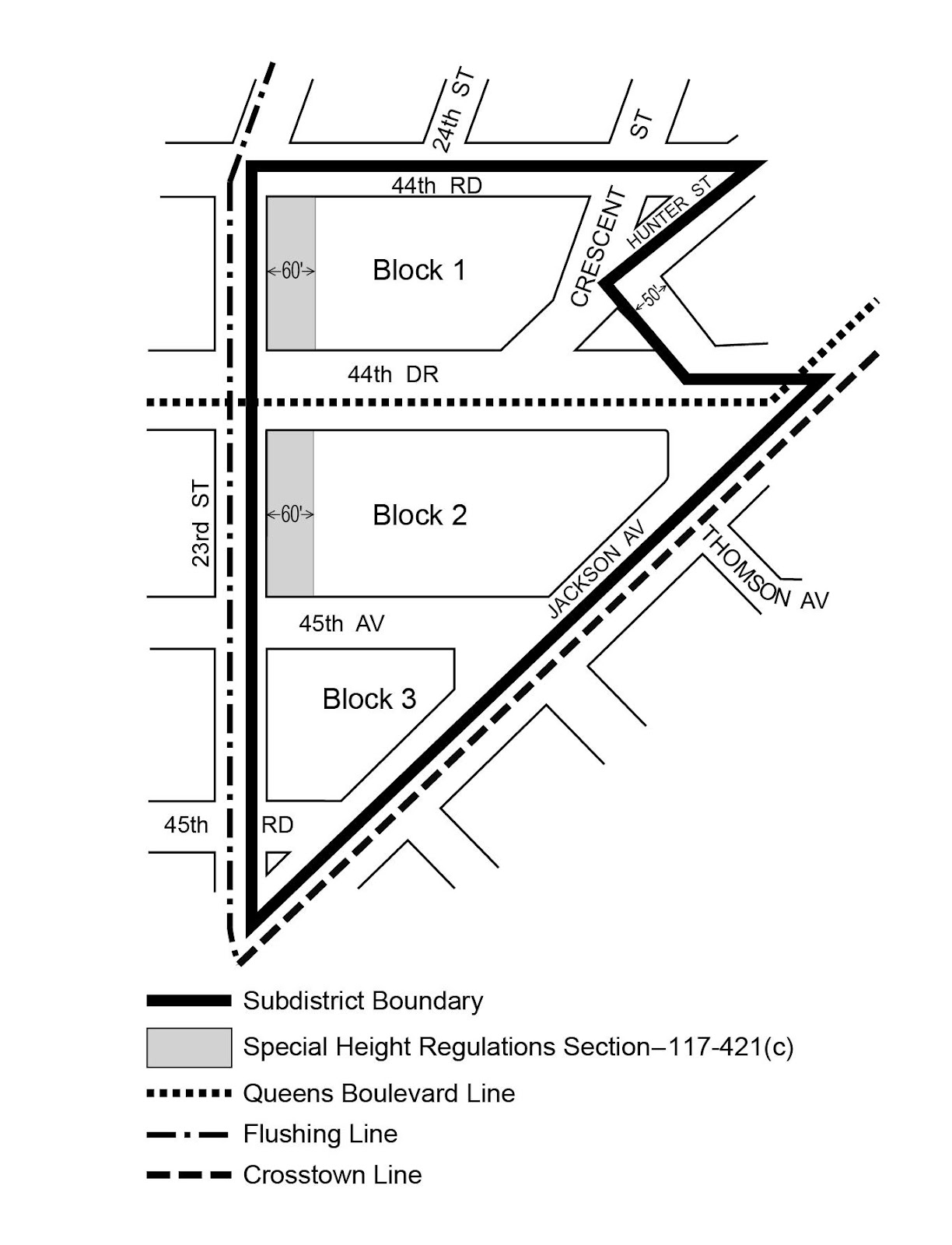 Zoning Resolutions Chapter 7: Special Long Island City Mixed Use District Appendix B.0