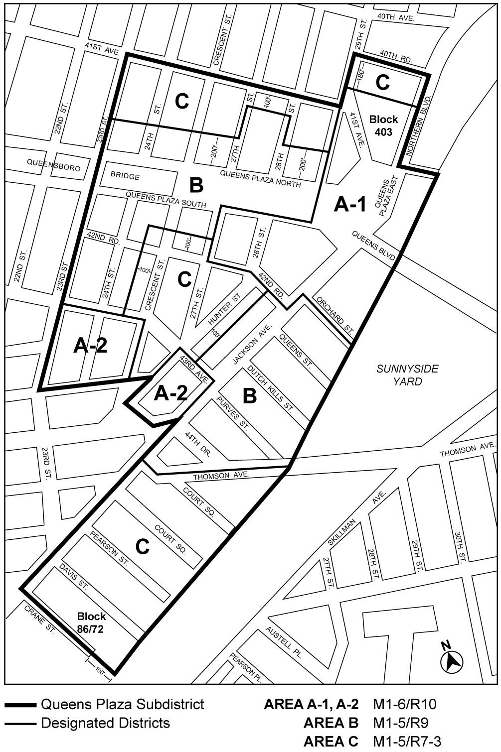 Zoning Resolutions Chapter 7: Special Long Island City Mixed Use District Appendix C.0
