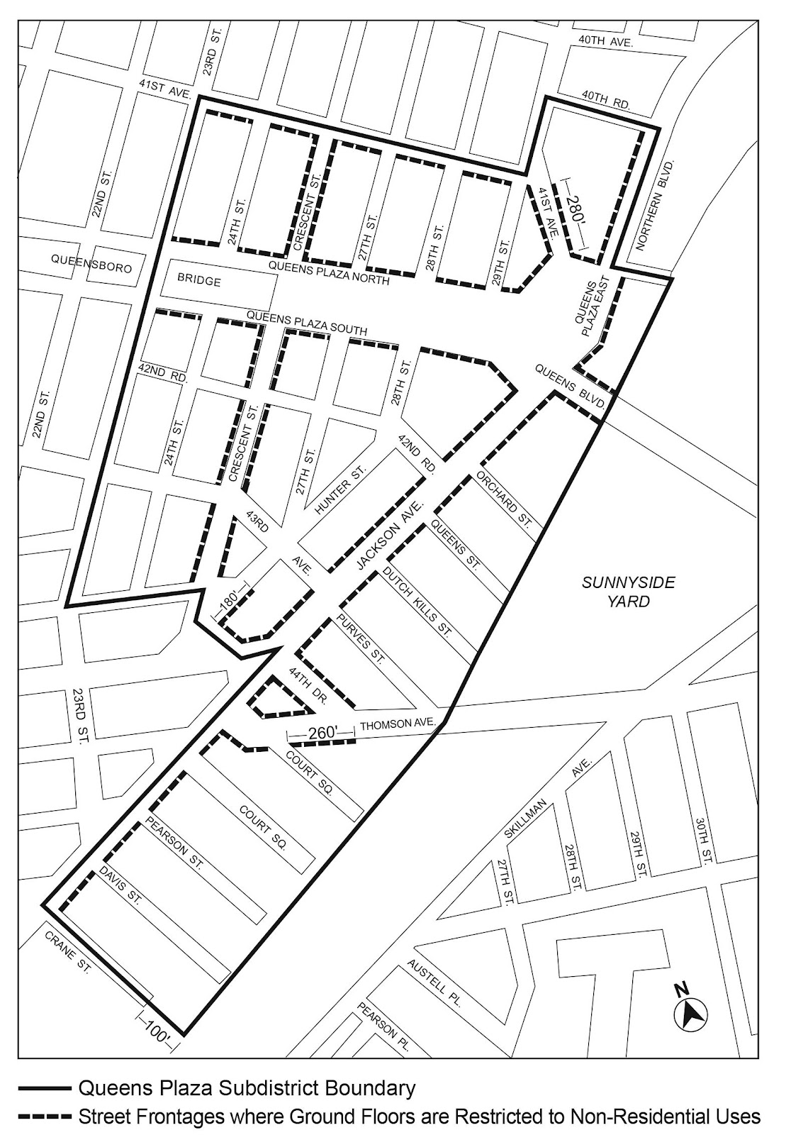 Zoning Resolutions Chapter 7: Special Long Island City Mixed Use District Appendix C.1