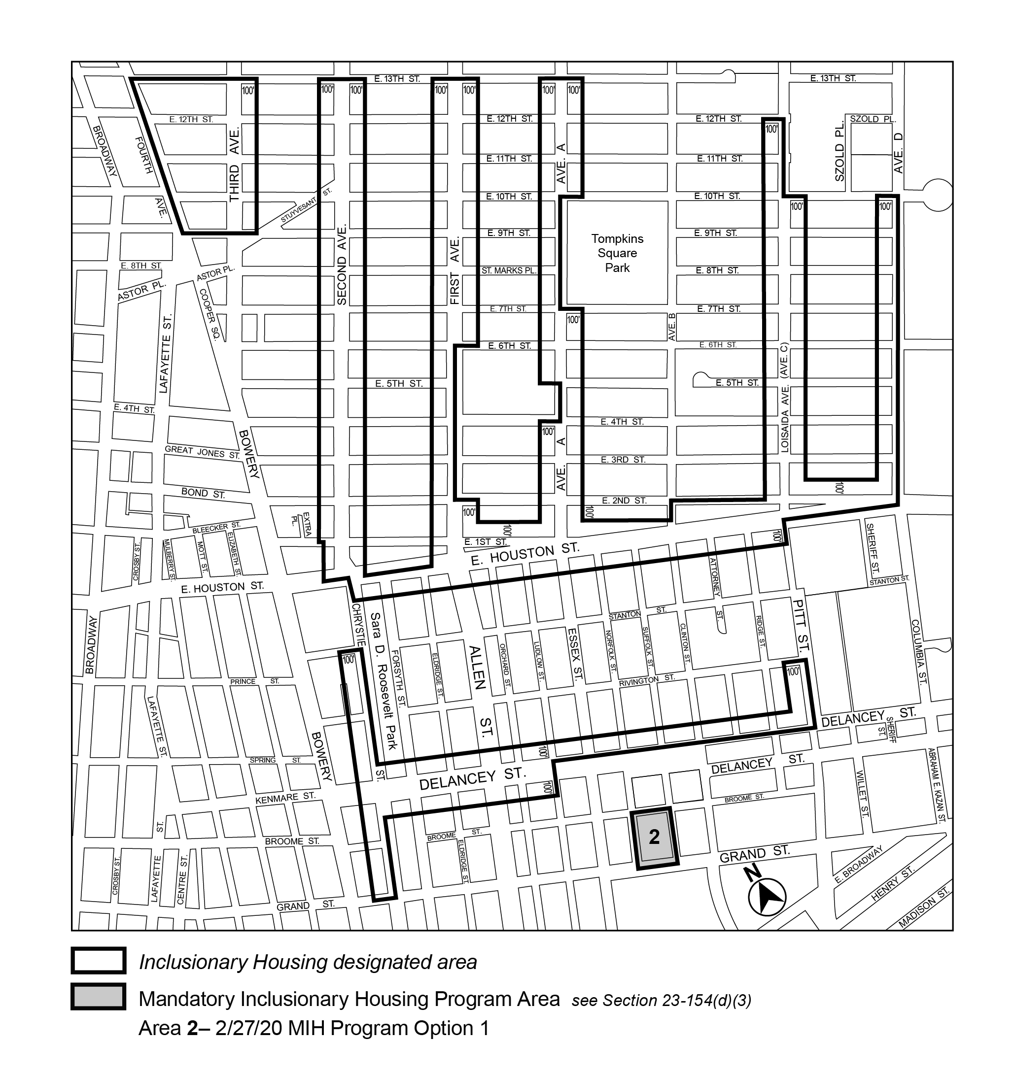 APPENDIX F Manhattan CD 3 Map 1 Area 2